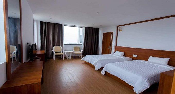 Phòng ngủ khách sạn Victory Luxury Hạ Long