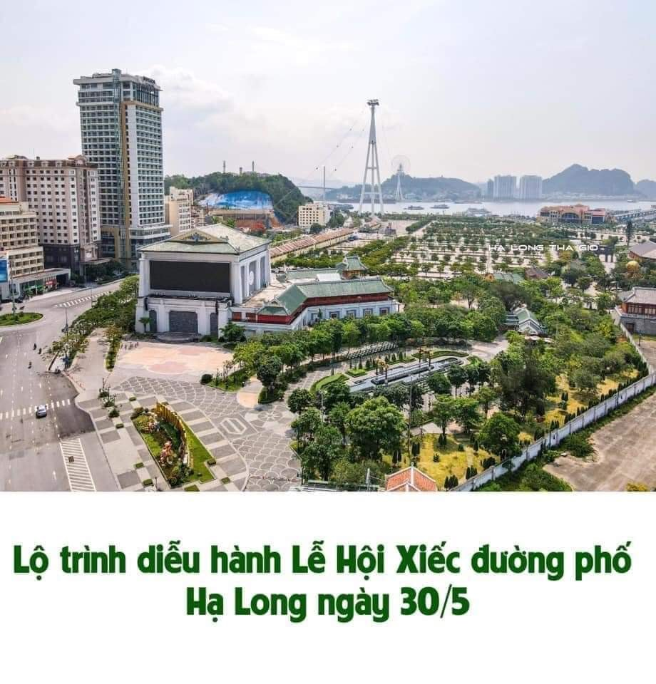 Lễ hội xiếc thành phố Hạ Long ngày 30 tháng 5