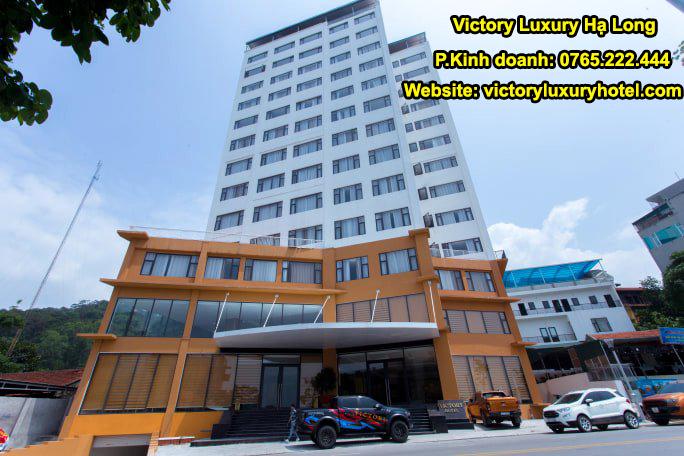 Khách sạn Victory Luxury Hotel  Bãi Cháy Hạ Long