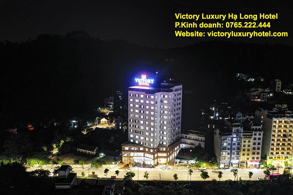 Khách sạn Victory Luxury Hạ Long 4 sao gần biển, gần sunworld